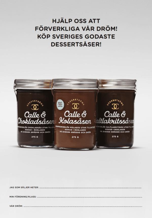 Cederströms dessertsåser folder